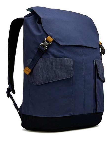 Mochila Case Logic Lodp115 Notebook Laptop Tablet 15,6 Azul