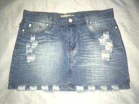 Pollera Jeans Rapsodia Nueva Sin Uso Y Con Etiqueta
