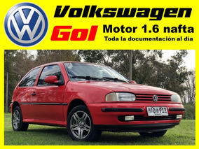 Volkswagen Gol 1997, Motor 1.6i Nafta, Radio, Llantas, Etc.