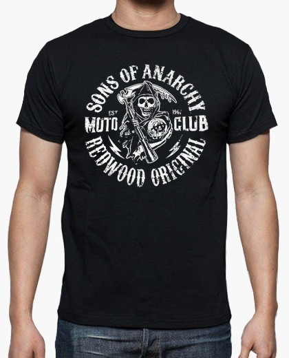 Remera Camiseta Samcro, Sons Of Anarchy, Personalizada Serie