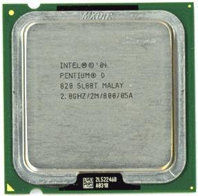 Procesador Pentium D 820 Dual Core 2.80ghz Socket 775