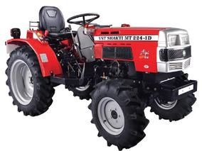 Tractor Agrícola Mitsubishi Vst Shakti 4x4 22hp