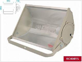 Reflector Olivo 400w Laterales En Acero E40 O E27