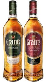 Whisky Grants 750ml X2 Sherry Cask + Classic