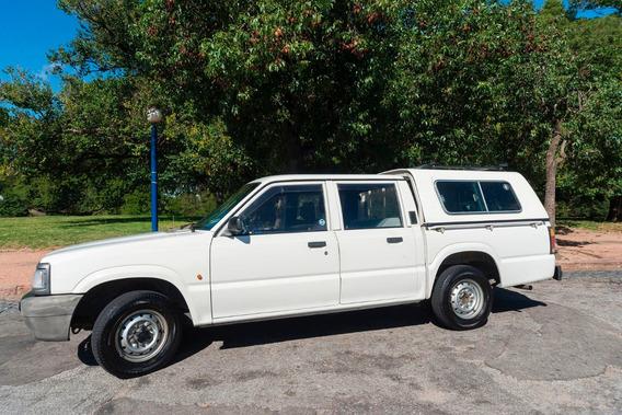 Camioneta Mazda Doble Cabina Con Cúpula, Cubre Caja Original