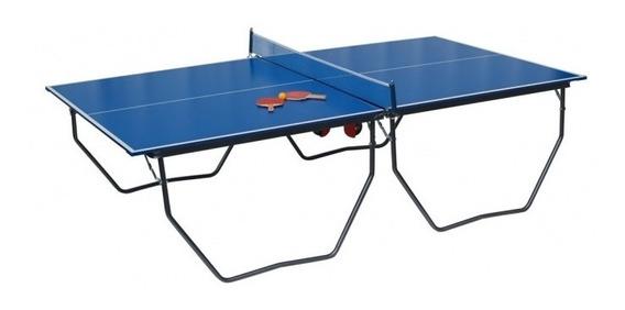 Mesa De Ping Pong Profesional, Plegable Con Ruedas