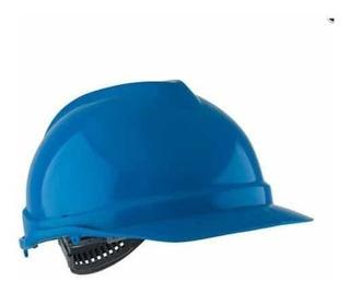 Casco De Seguridad Marca Evoiii Arnés Azul - Mundo Trabajo