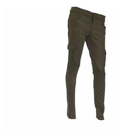 Pantalon Pampero Cargo Urbano D Elast Verde