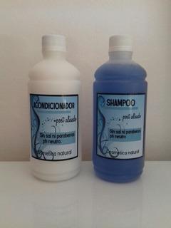 Shampoo Y Acondicionador Sin Sal Ni Sodio Para Alisados