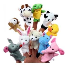 10 Titeres Animales De Dedo. Muy Didacticos. Super Oferta !