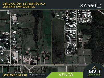 Oportunidad Terreno En Venta 37.560 M² Zona Logística