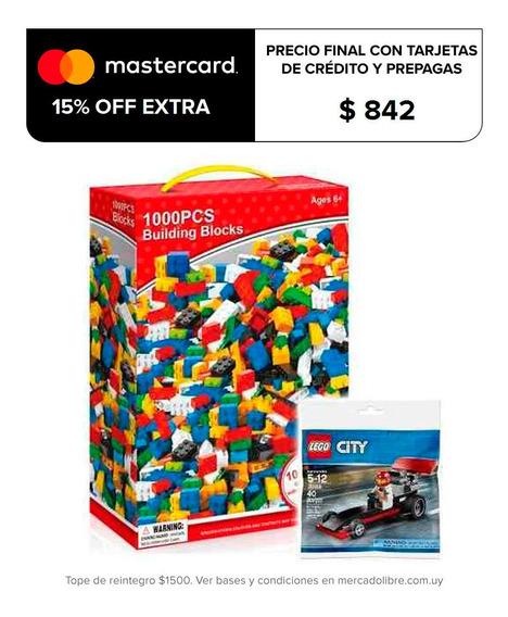 Juego 1000 Bloques Ladrillos Encastre Calidad + Lego! El Rey
