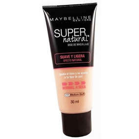 Base Maybelline Super Natural Medium Buff 225