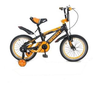 Bicicleta Niño Bebesit Turbo R 16 - Dilusso