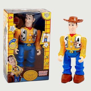 Toy Story, Woody Articulado,camina Con Luz Y Sonido. 30 Cm