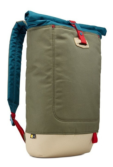 Mochila Case Logic Lari114 Notebook Laptop Tablet 14 Verde