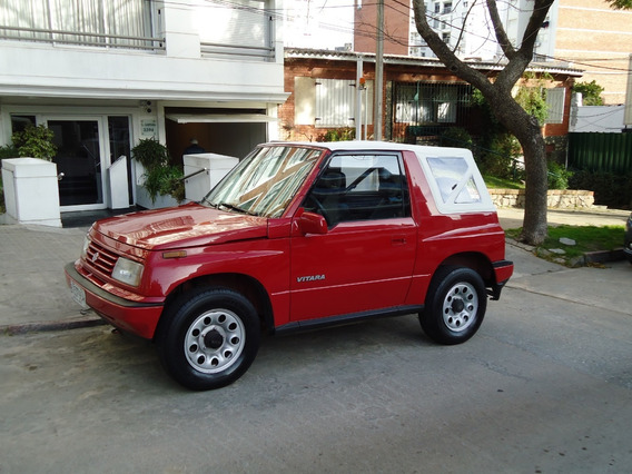Suzuki Vitara 1.6 8v Techo De Lona En Impecable Estado