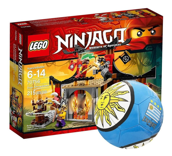 Lego Ninjago Entrenamiento En El Dojo 70756 + Regalo El Rey