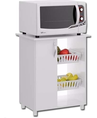 Mueble Multiuso 501 - Cocina - Microondas - Frutero - Lcm