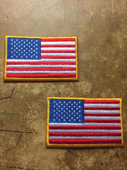 Bordado Bandera Estados Unidos Usa