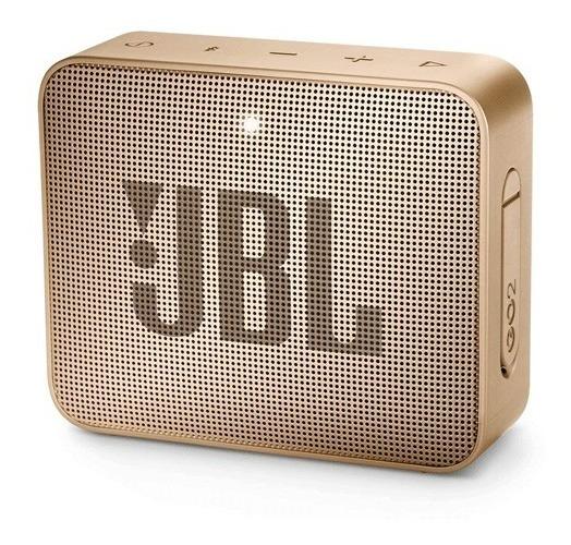 Parlante Portátil Jbl Go2 Bluetooth Champagne Zonatecno