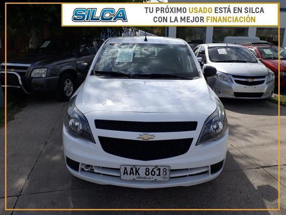 Chevrolet Agile Ls 2013 Blanco 5 Puertas
