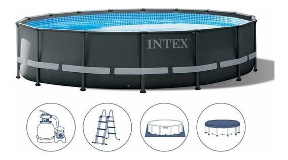 Piscinas Estructural Ultra Xtr Intex 488x122 Cm