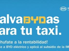Subsidio De U$s 9 Mil Para Recambio Taxi