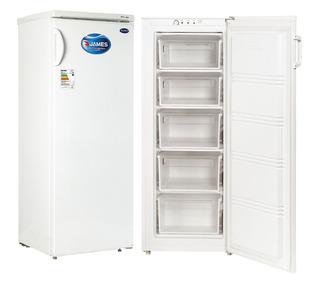 Freezer AUCMA de 282 Litros, 2 puertas de vidrio, ruedas y