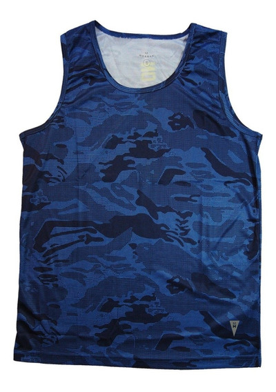 Musculosas Deportivas Dry Fit Azul 74890mr/51