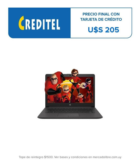 Notebook Hp Nueva 14 N4000 4gb/64gb Emmc Win10 Pro240-g7