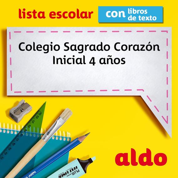 Lista Escolar Colegio Sagrado Corazón Inicial 4 Años