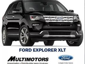 Ford Explorer Xlt - 3 Filas Entrega Ya - Financiacion Tasa0%