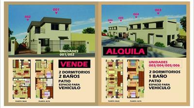 Duplex A Estrenar. A Metros De Cno Carrasco. 2 Dormitorios.