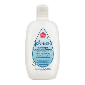 Crema Johnson & Johnson Líquida Hidratacion Intensa