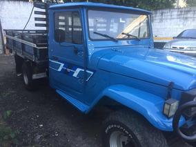 Toyota Bandeirante Camionete Aberta Diesel 1991
