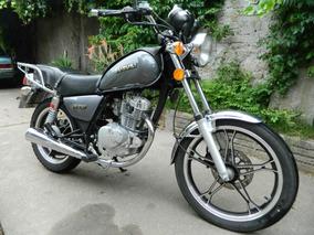 Suzuki Gn125f Flamante.