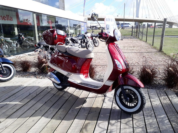 Moto Scooter Zanella Exclusive 125 + Regalos!