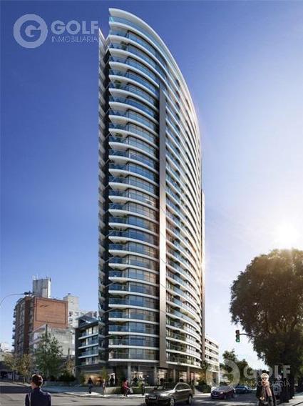 Vendo Apartamento Monoambiente Con Terraza, En Construcción, Ocupación 01/2023, Buceo, Montevideo