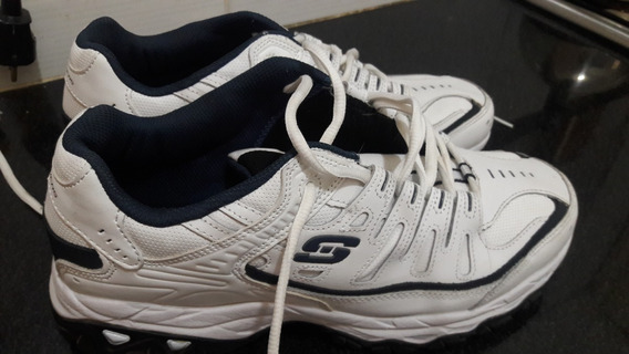 Champion Skechers After Burn Memory Fit White.