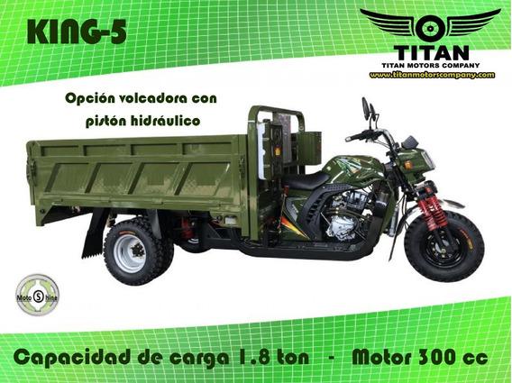 Triciclo Titan King-5 300 Cc 0 Km