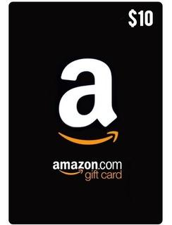 Tarjeta Amazon Gift 10 Usd Usa   Mvd Store
