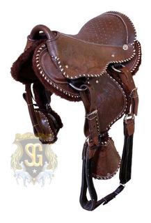 Montura Infantil Pony Importada Nueva Australiana P Caballos