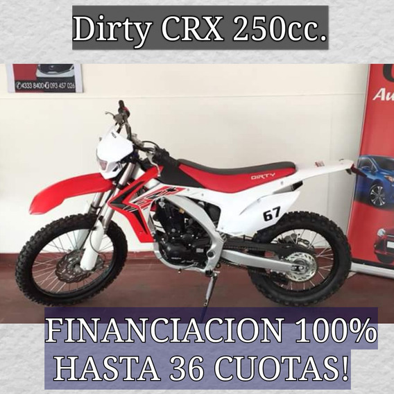 Moto Cross Dirty 125,250 0km 100%financiada Hasta 36 Cuotas