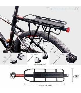 Parrilla Para Bicicleta Adaptable Con Herramientas 50kilos