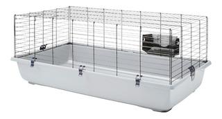 Jaula Para Conejos,hurones,cobayas,erizos,de 100x50x43cm