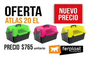 Jaula Transportadora Para Perros Y Gatos 10kg Neon Colors