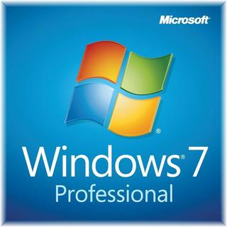 Licencia Original Windows 7 Professional 32 & 64 Bits