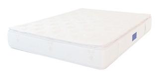 Colchón Zeus Espuma Queen Doble Pillow 160x200x30-ci