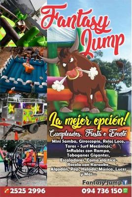 Alquiler Toros Mecanicos,surf,mini Samba,giroscopios Y Màs!